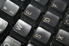 Services photo of a computer keyboard