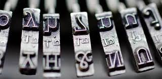 Photo of Typewriter Letters